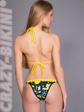 Пестрый мини-бикини Майами
