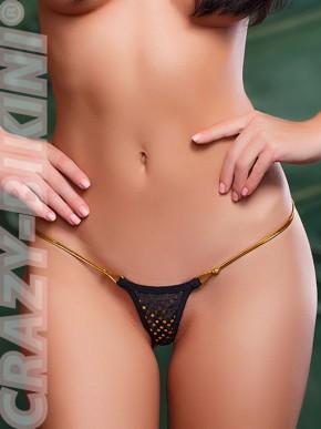 Микро-трусики Золотая нить
